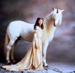 Principe as the Unicorn with Princess Lilly